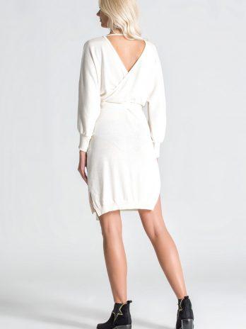 Vestido malha cruzado