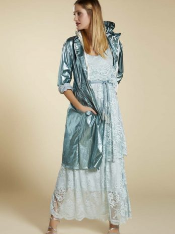 Vestido longo renda