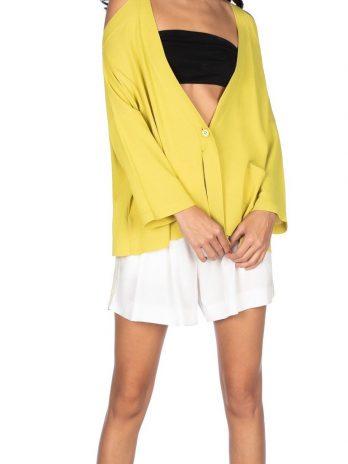 Casaco curto fashion