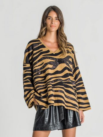 Camisola animal print