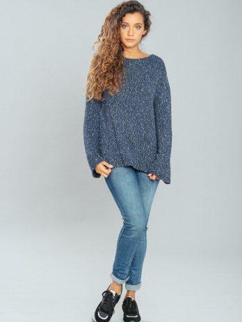 Jeans enrugado