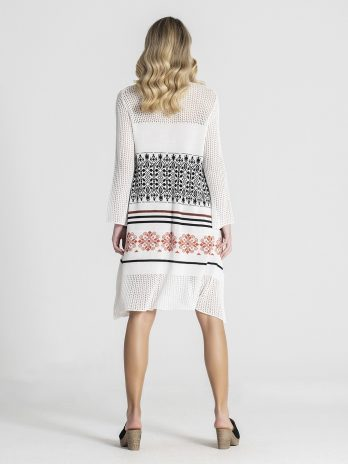 Túnica/vestido perfurada