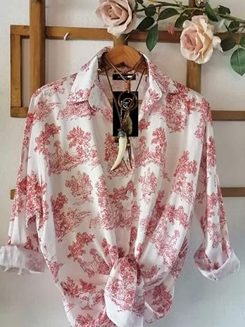 Camisa Dama Antiga