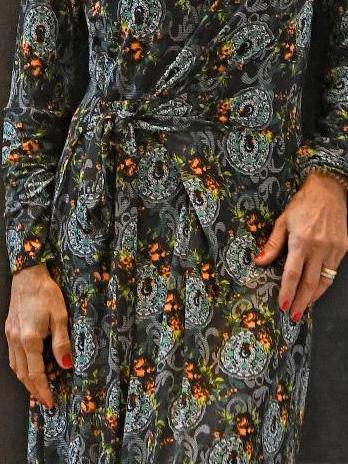 Vestido Lycra Estampado