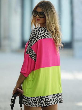 Túnica /Vestido com Coração Lantejoulas