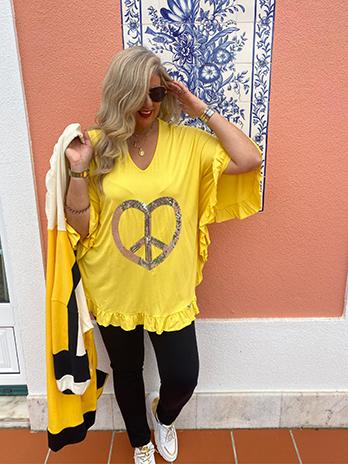 Túnica Susy Simbolo Paz