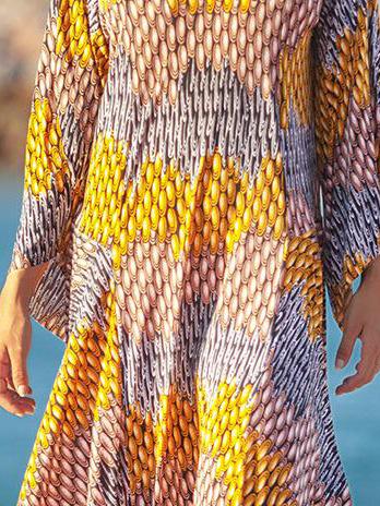 Vestido Longo Assimetrico