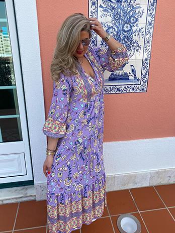 Vestido Hippie Chic