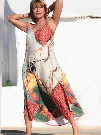 Vestido Arara Alça
