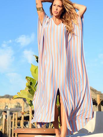 Vestido Solto Bali Riscas