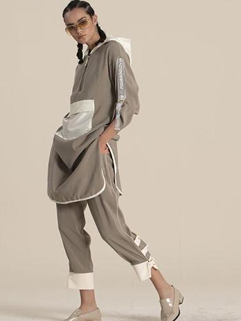 Pantalona Tripla Cor Fivela no Punho