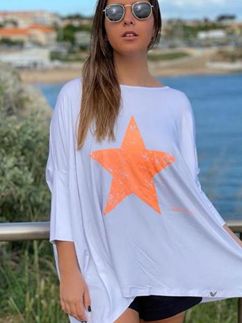 Túnica com Estrela Licra Fria