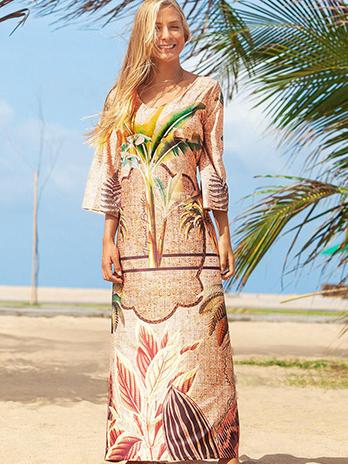 Vestido Premium Palmeira