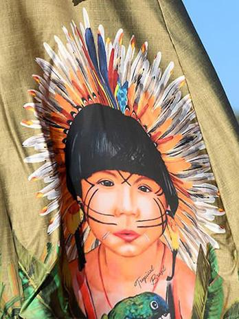 Vestido Premium Índio