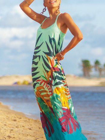 Vestido longo Pipa chanel