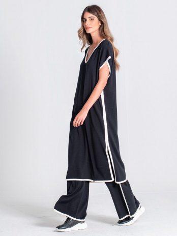 Túnica / vestido sem mangas